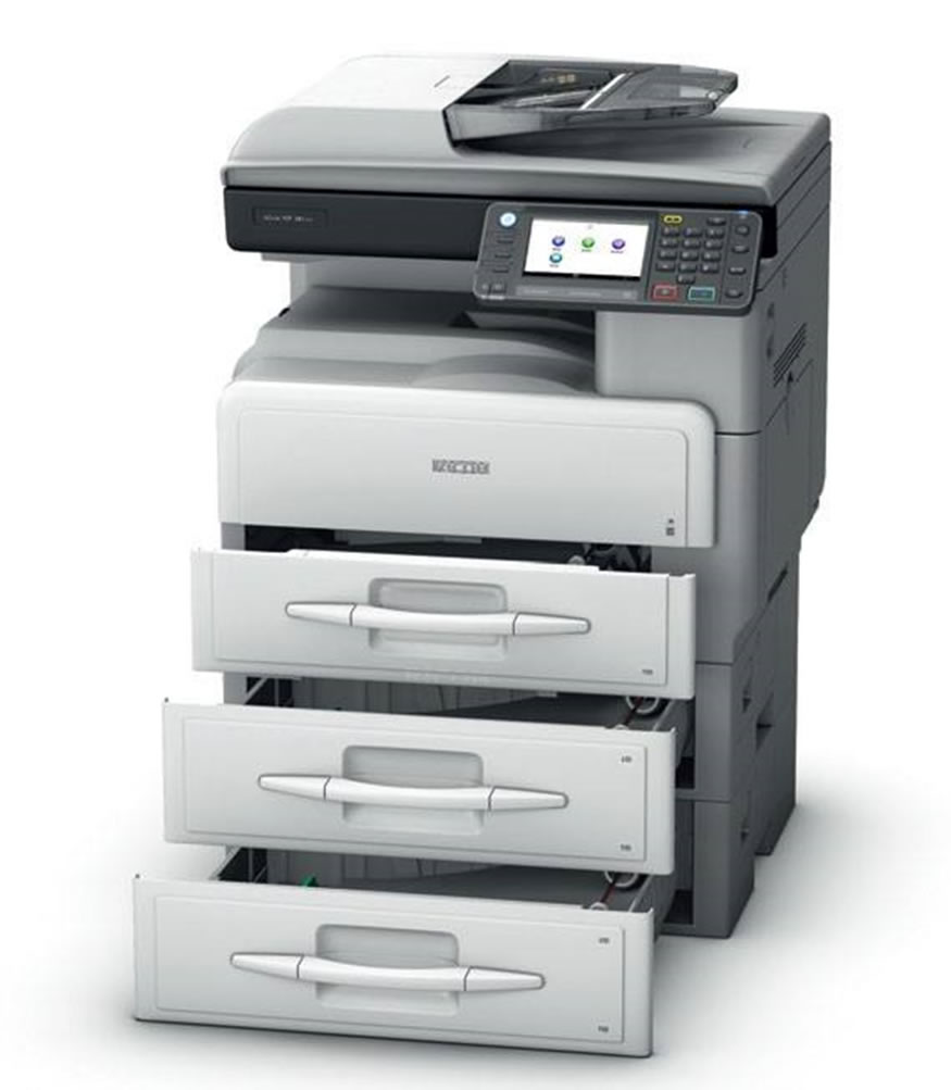 Ricoh MP 301SPF black and white copier in Kenya